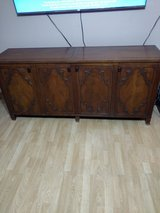 Credenza - solid wood in Katy, Texas