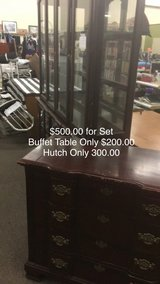 Hutch/Buffet Table Set in Fort Leonard Wood, Missouri