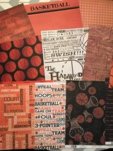 Basketball paper and stickers in Cherry Point, North Carolina