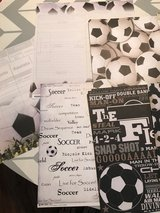 Soccer paper in Cherry Point, North Carolina