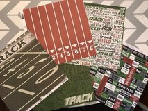 Track paper and stickers in Cherry Point, North Carolina