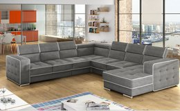 United Furniture - Dauphine Sectional with Storage Chaise (also on other side)  in other colors in Spangdahlem, Germany