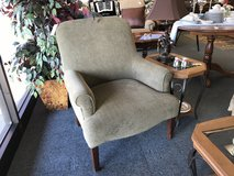 Sage green chair in Naperville, Illinois