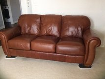 lLane Upholstery Leather Master Sofa in Chicago, Illinois