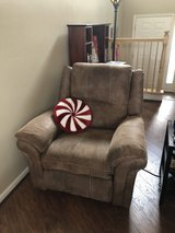 Comfy recliner from Great Escape in Naperville, Illinois