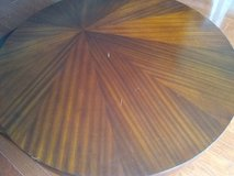 Round Swirling Wood Coffee Table in Bolling AFB, DC
