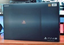 Playstation 4 Pro Limited Edition - 500 Million in Yucca Valley, California