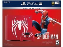 Playstation 4 Pro Limited Edition - Spider-man in Yucca Valley, California
