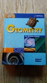 BJU Press Geometry Hardcover Student Textbook Second Edition in Bolingbrook, Illinois