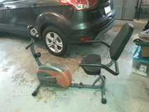 recumbant exercise bike by Marcy in Chicago, Illinois
