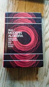 Modern Algebra Structure and Method Book 1 Revised Edition by Dolciani and Wooton in Bolingbrook, Illinois