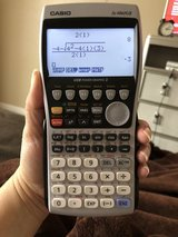 Casio fx-9860 GII Graphing calculator w/cover in Fort Hood, Texas