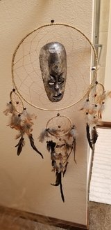 Dreamcatching with Mask in Fort Carson, Colorado