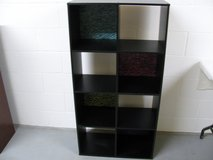 8 Cube Organizer Black in Fort Campbell, Kentucky