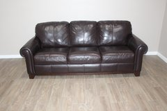 leather Sofa- Brown in Tomball, Texas