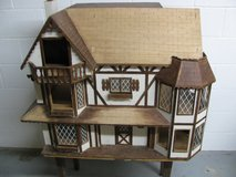 Huge Vintage Old Wooden Dollhouse in Fort Campbell, Kentucky