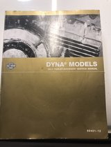2012-2014 harley dyna service manual in Vista, California