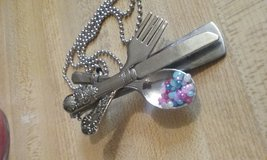 Hand crafted spoon necklace in Warner Robins, Georgia