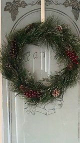 Christmas wreath in Vacaville, California