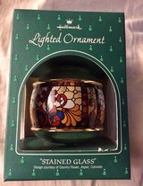 HALLMARK LIGHTED STAINED GLASS ORNAMENT in Westmont, Illinois