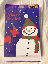 SNOWMAN HOLIDAY INVITATIONS in Westmont, Illinois