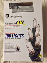 100 BRIGHT MINI LIGHTS - Long length BRAND NEW! in Westmont, Illinois