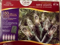 CLEAR WHITE MINI LIGHTS - 150 lights - 16 functions in Westmont, Illinois