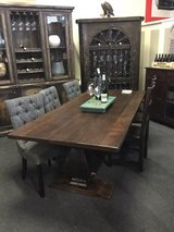 Reclaimed Wood Dining Tables in stock. We deliver in Stuttgart, GE