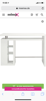 White Bar Table in Ramstein, Germany