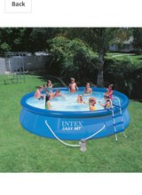 15x36 intex easy set pool in Valdosta, Georgia