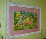 Large Fairy Tea Party Framed Picture From Hobby Lobby in Beaufort, South Carolina