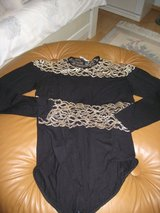 Black Bodysuit w/Gold Design in Ramstein, Germany