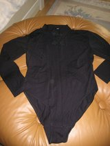 Black Bodysuit w/2 button closure at neck in Ramstein, Germany