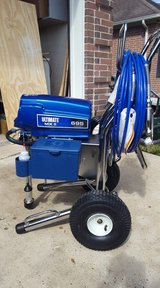 TWO - New GRACO top of the line COMMERCIAL paint/Texture sprayers!!!! in Kingwood, Texas