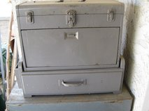 VINTAGE KENNEDY TOP BOX AND WOOD BASE BOX in Yucca Valley, California