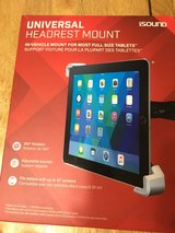 iPad tablet car headrest mount in Spring, Texas