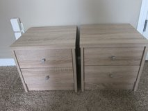 "NEW 2 pcs Small Nightstand fits next to a toddler bed  size W15""x D13""x H15"" in Fort Bragg, North Carolina"