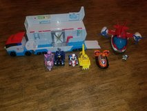 Paw Patroller truck, Air Patroller, and characters in Kingwood, Texas