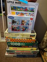 bundle of unchecked puzzles in Lakenheath, UK