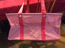 Thirty One large utility tote pink and white in Warner Robins, Georgia