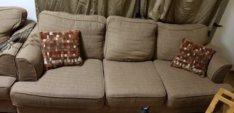 couch with 2 end tables and lamps in Baumholder, GE