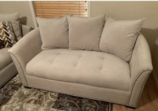 REDUCED ***MINT COND. 3 pc Sofa, chaise lounge, and ottoman in Kingwood, Texas