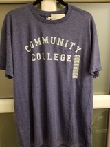 Community College shirt in Ramstein, Germany