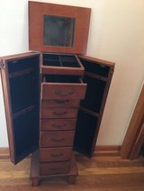 Free Standing Jewelry Armoire in St. Charles, Illinois