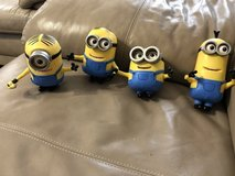 4 Minions moving eyes and mouths in Warner Robins, Georgia