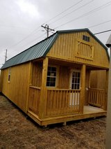 New 12'x32' Lofted Cabin in Fort Leonard Wood, Missouri