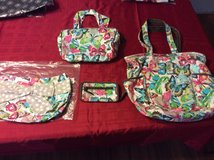 Thirty One purse, two skirts, wallet, bag and cosmetic bag set in Byron, Georgia