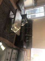 Sofa + Love seat + center table + 2 side tables + inclined chair + 2 table lamps in Fort Leonard Wood, Missouri