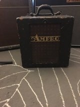 Vintage Ampro guitar cabinet in Shorewood, Illinois