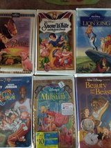 VHS Disney Movies in Alamogordo, New Mexico
